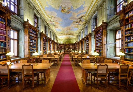 Augustinian Reading Room, National Library of Austria