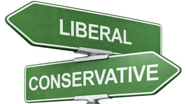 Politics, lefty liberal or right-wing conservative