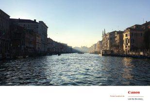 Canal Grande, Venezia, Italia, ianuarie 2017