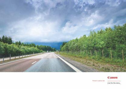 Drumul E4 către nord, Suedia