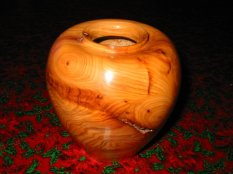Small yew bowl