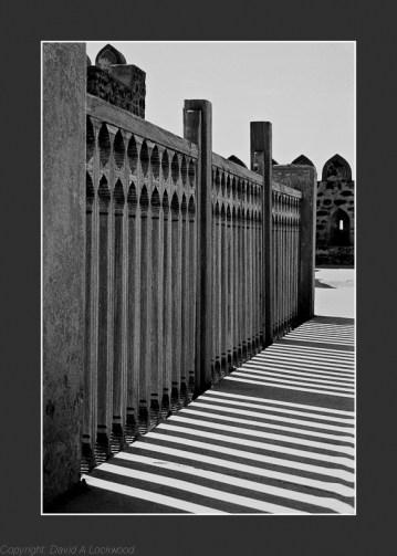 Jabrin fort - Shadows