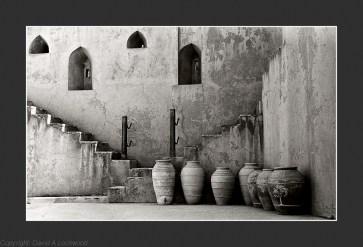 Storage pots - Jabrin Fort
