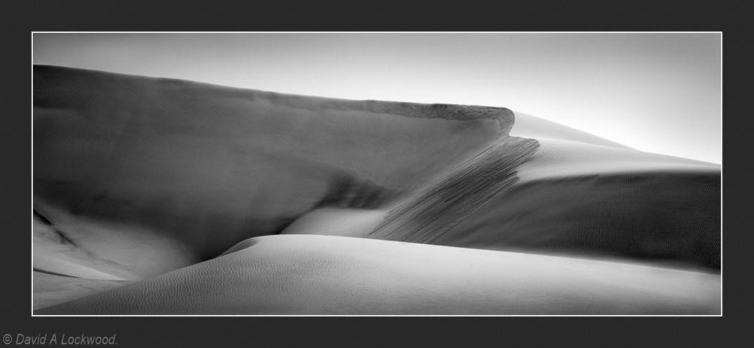 DofF & wind blown sand