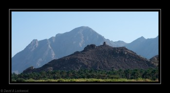 Hilltop tower Wadi Alyn