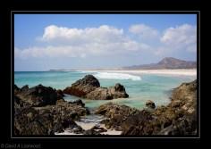 Indian Ocean side of Masirah