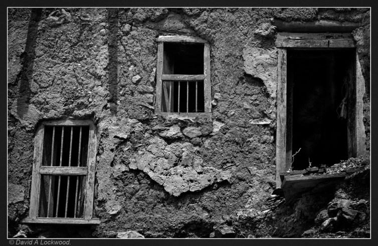 Two windows & door