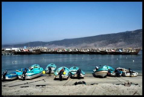 Fishing boats Dhofar