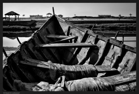 Early boat construction - Dhofar No3