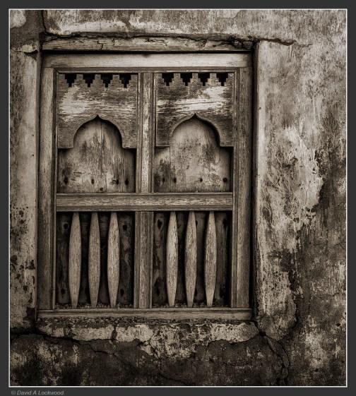Mirbat window - Dhofar