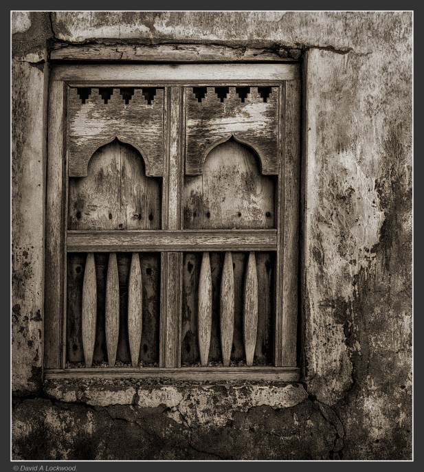 Mirbat window - Dhofar
