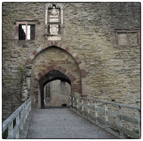 Ludlow castle - Main tower