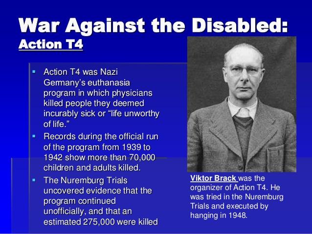 Nazis and euthanasia