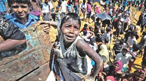 This image has an empty alt attribute; its file name is genocide-of-rohingya.jpg
