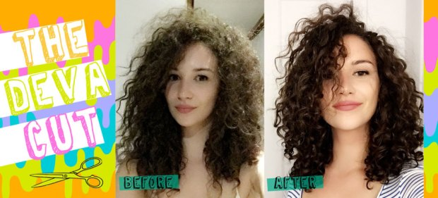 The Deva Cut Before and After- Deva Cut Plymouth