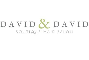 David & David Hair Salon logo transparent background