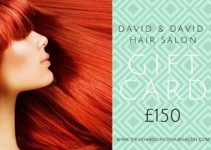 David & David £150 gift card 2020