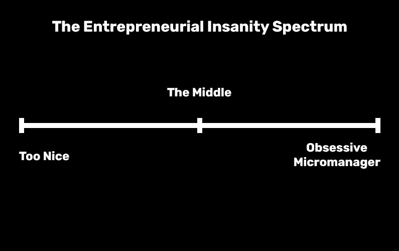 The entrepreneurial insanity spectrum