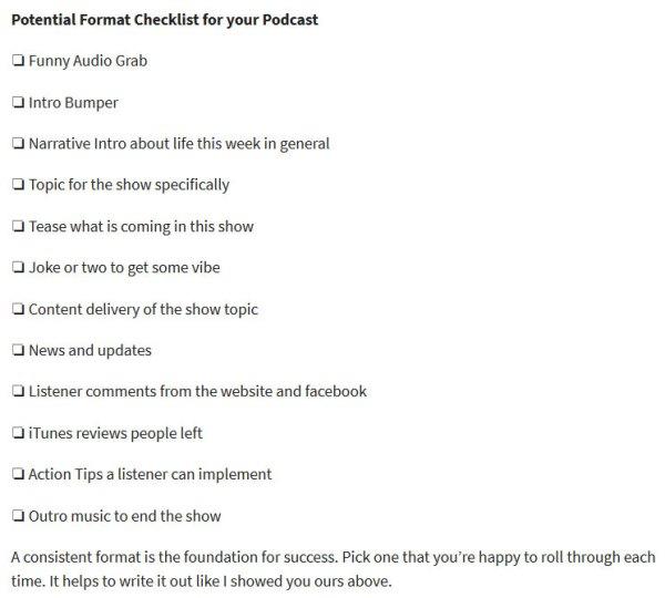 James Schramko checklists