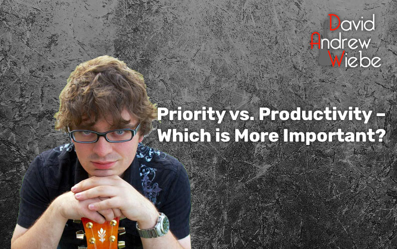 Priority vs. Productivity – Which is More Important?