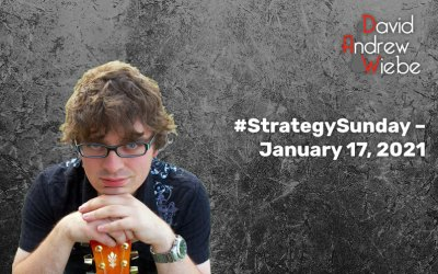 #StrategySunday – January 17, 2021