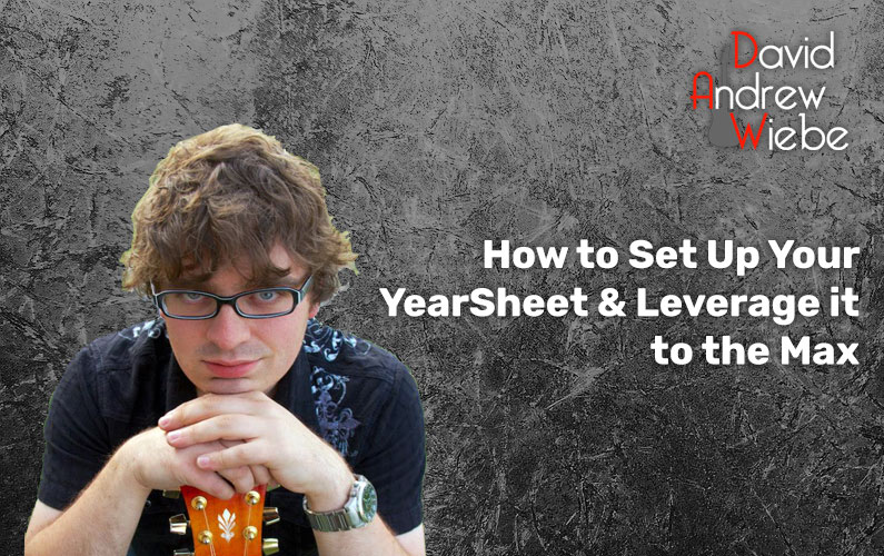 How to Set Up Your YearSheet & Leverage it to the Max