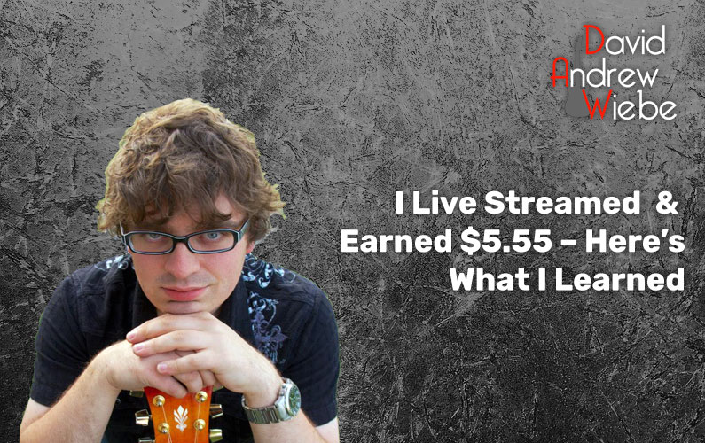 I Live Streamed & Earned $5.55 – Here's What I Learned