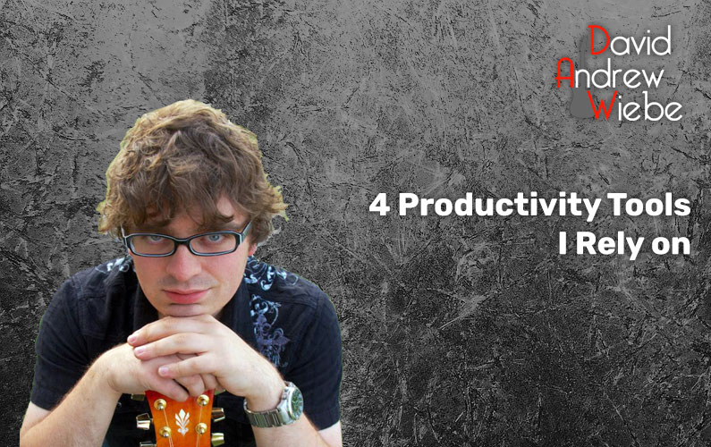 4 Productivity Tools I Rely on