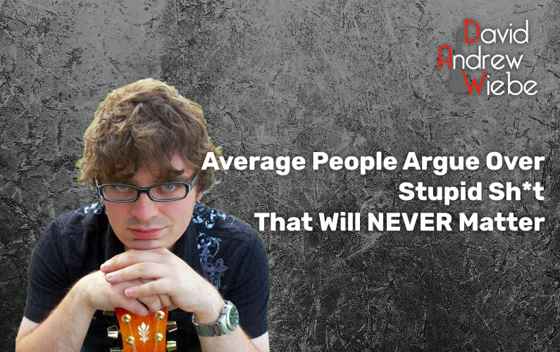 Average People Argue Over Stupid Sh*t That Will NEVER Matter
