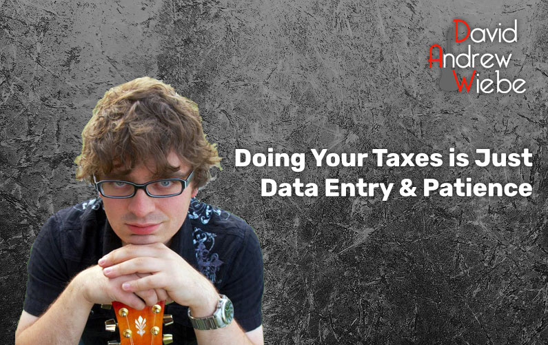 Doing Your Taxes is Just Data Entry & Patience