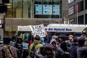 Black Lives Matter (above Home Ownership Matters)