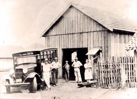Jardineira chegou a Paranavaí graças ao empresário Celso Garcia (Foto: Reprodução)