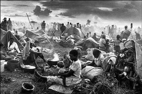 Sobrevivente viu a morte de centenas de pessoas (Foto: Daniel Chen)