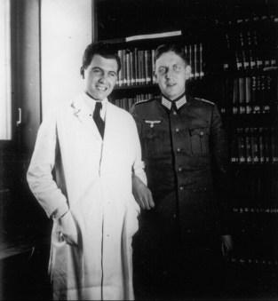 Lidia Selhorst reconheceu o médico como sendo Josef Mengele (Foto: Reprodução)
