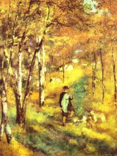 Nefaltzi Vallató gostava de caminhar fora da colônia (Arte: Pierre-Auguste Renoir)