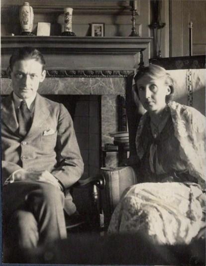 T.S. Eliot e Virginia Woolf se tornaram amigos através da Hogarth Press (Foto: Reprodução)