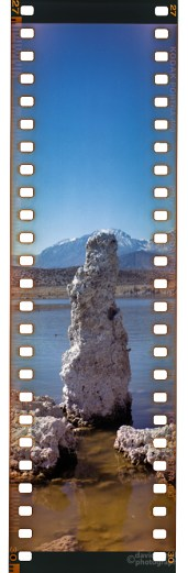 Tufa, Mono Lake (1) with the Kodak Brownie Model B No. 3