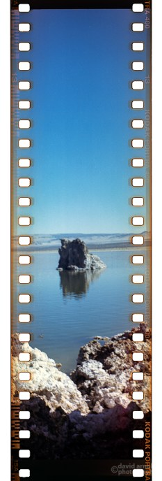 Tufa, Mono Lake (4) with the Kodak Brownie 2A