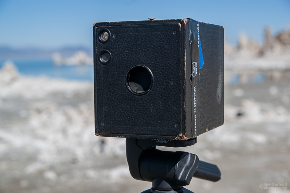 The Kodak Brownie No. 3 at Mono Lake California