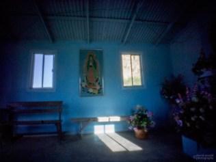 Two Windows and Bench, Church at San Miguel de Comondú