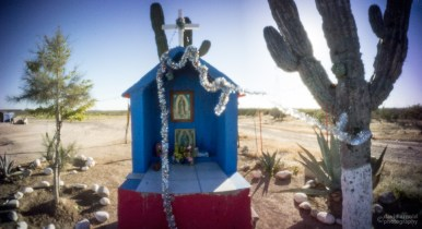 Our Lady, Shrine Near La Pocitas, Highway 1, Baja California Sur, Mexico