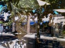 Cowboy Reflection, Plumas Street, Yuba City, California