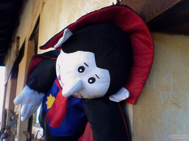 Dracula Doll, Highway 49, Mt. Bullion, California