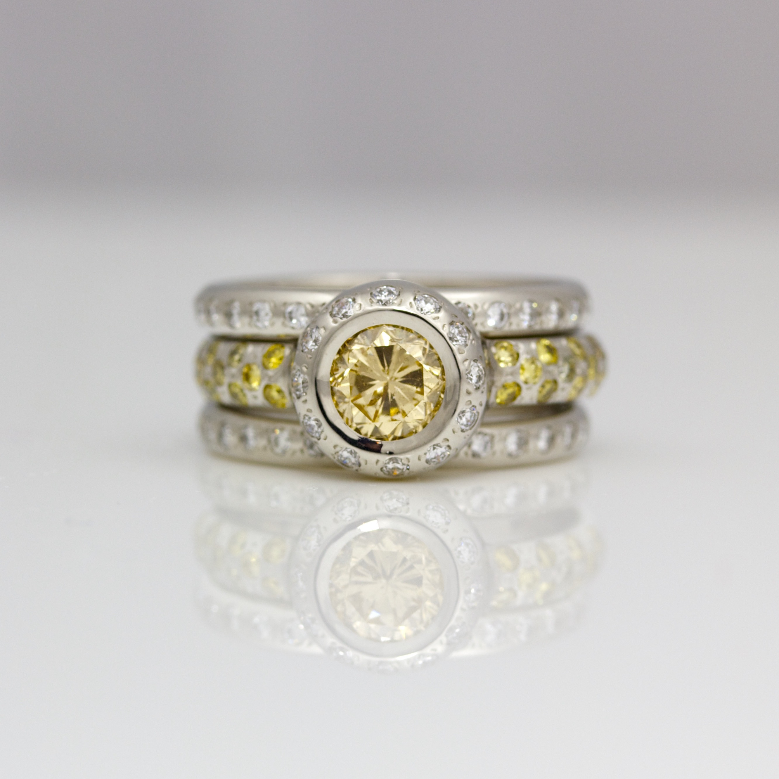 stacked ring rings envy wedding topic stacking