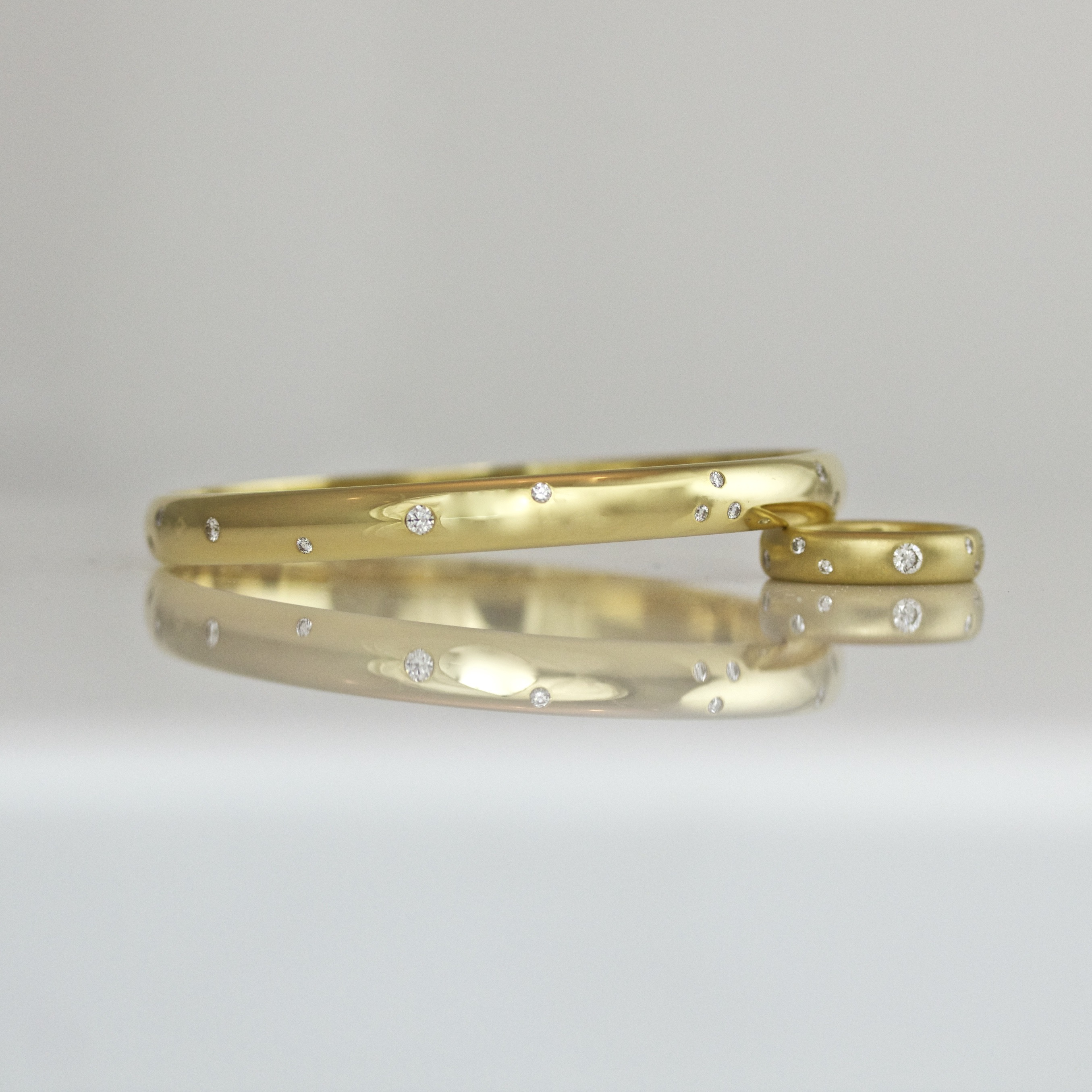 gold piece of white set at online buy stamped goldsilver bangles