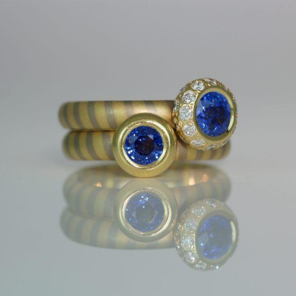 Opulent modern sapphire rings 1011 1060