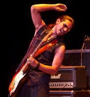 Henry Garza, Los Lonely Boys @ La Cumbre Jr. High 12/12/12 Sings Like Hell