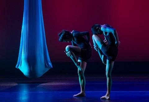 "UCSB Dept. of Theater & Dance - ""Five Quiets"" 4/9/14 Hatlen Theater"