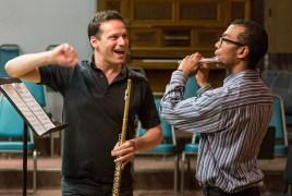 Walter Auer of the Vienna Philharmonic, flute masterclass