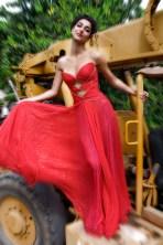 Whitney West Model - Bob Mackie Dress advertisement 8/31/01